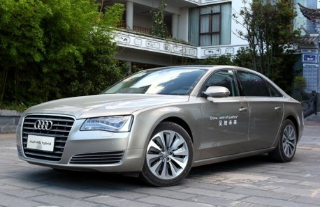 Audi A8L 40 Hybrid hits the Chinese car market