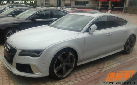 Spy Shots: Audi RS7 Sportback testing in China