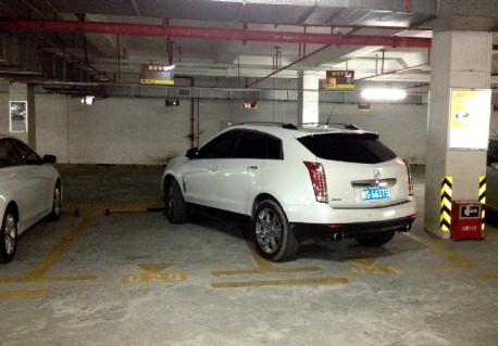 Cadillac driver is an Asshole in China