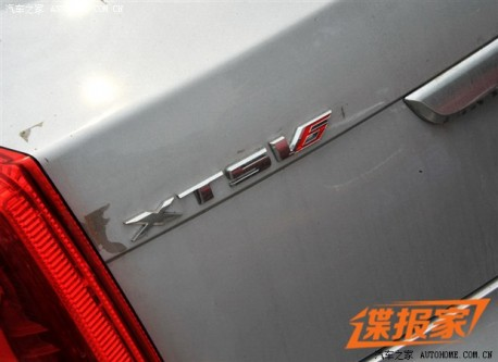 Spy Shots: 2014 Cadillac XTS-V6 with 410hp twin-turbo V6 testing in China
