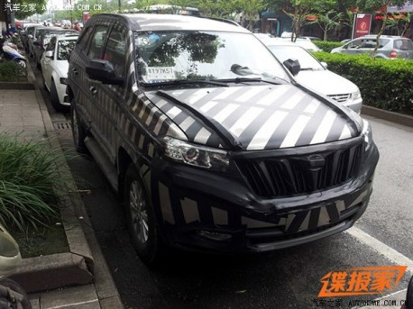 Spy Shots: Foday NHQ6480 SUV testing in China