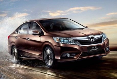 Honda Crider will be launched on the Chinese car market on June 26