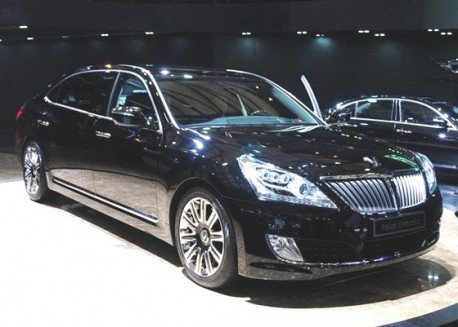 Facelifted Hyundai Equus launched on the Chinese car market