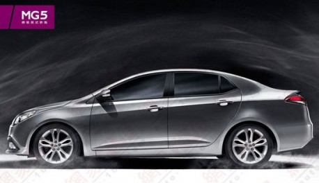 MG5 sedan will hit the Chinese car market in 2014
