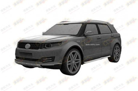 Patent Applied: large SUV by Yangtze River Jialing Motor Manufacturing