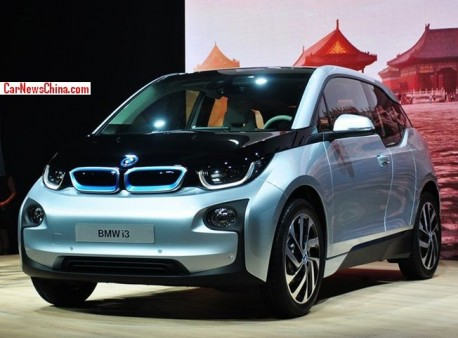 BMW i3 debuts in Beijing