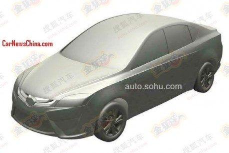 Patent Applied: new subcompact sedan for Guangzhou Auto