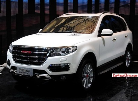Haval H8 will be launched on the China car market in September