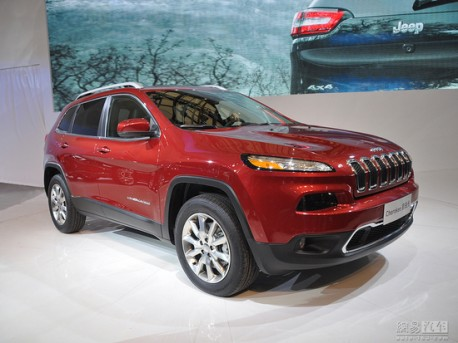 New Jeep Cherokee will hit the China car market in September