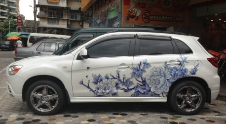 Mitsubishi ASX is arty farty in China