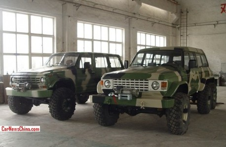 Meet the Mad Nissan Patrol all-terrain Monsters from China