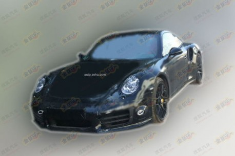 Spy Shots: Porsche 911 Turbo S testing in China
