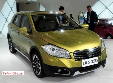 Suzuki SX4 S-Cross will hit the China car market in September