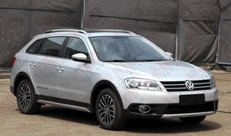 Spy Shots: Volkswagen Cross Lavida is Naked in China