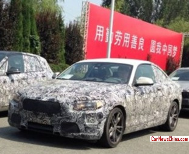 new car launches april 2014Spy Shots BMW 1Series GT  BMW 2Series Coupe testing in China