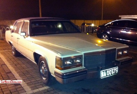 Spotted in China: fifth generation Cadillac de Ville