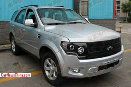 New Jiangnan Chunzhou SUV is a bit of a Ford Raptor in China