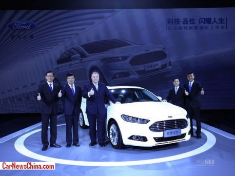 New Ford Mondeo hits the China car market