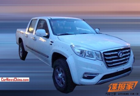 Spy Shots: Great Wall Wingle 6 pickup truck seen testing in China