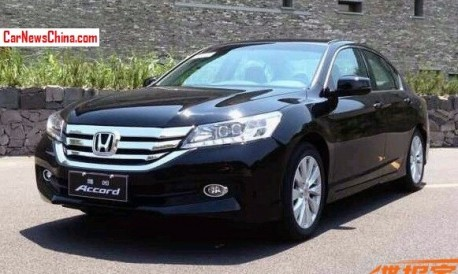 Spy Shots: new China-made Honda Accord is Ready for the Chinese car market