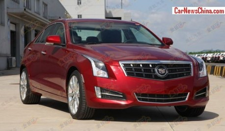 Spy Shots: Cadillac ATS arrives in China