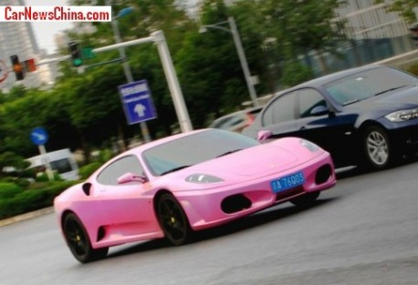 Ferrari F430 is Pink in China