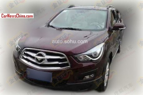 Spy Shots: Haima S5 SUV in Purple in China
