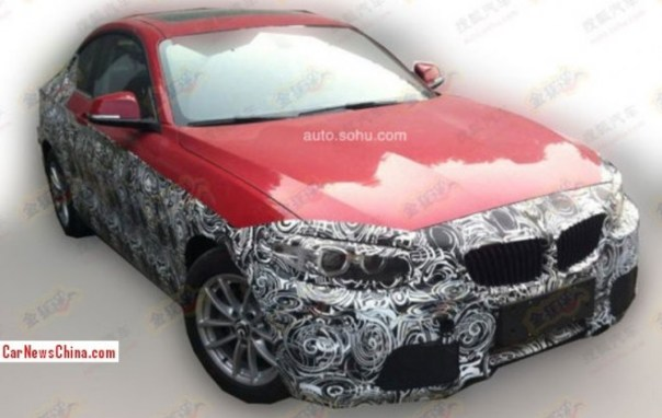 Spy Shots: BMW 2-Series Coupe testing in China