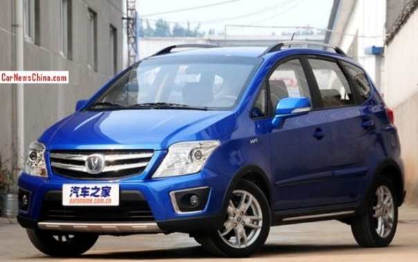 Facelifted Changan CX20 mini-MPV launched on the China car market