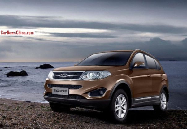 Chery Tiggo 5 SUV is Official in China