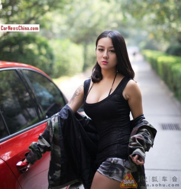 china-girl-volkswagen-golf-5