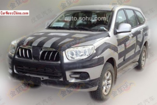 Spy Shots: Foton U201 SUV seen testing in China again