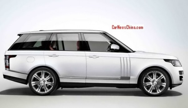 Range Rover Long Wheelbase will debut on the Guangzhou Auto Show in China