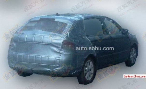 Spy Shots: Skoda Rapid Spaceback testing in China