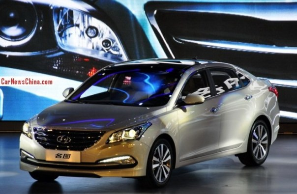 Hyundai Mistra launched on the China car market