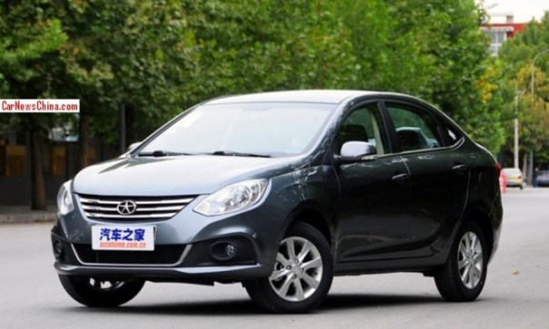JAC Heyue A30 launched on the China car market