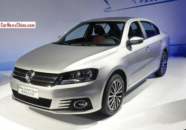 Volkswagen launches four new variants of the Volkswagen Lavida in China