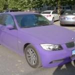 Bmw 3 Series Is Matte Purple In China Carnewschina Com