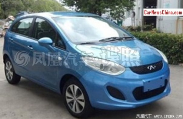 Spy Shots: Chery E1 is almost Ready for the China car market