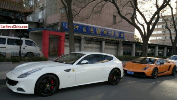 Spotted in China: Ferrari FF & Lamborghini Gallardo Superleggera