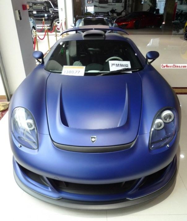 Super Car China Super Spot: Gemballa Mirage GT Matt Edition