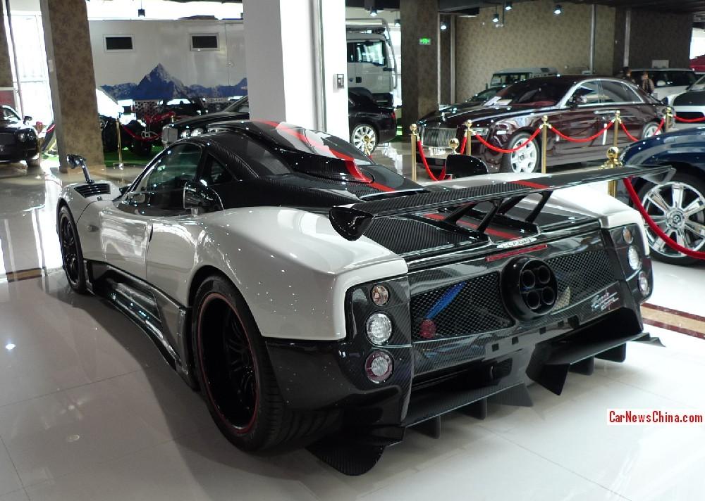 Super Car China Super Spot Pagani Zonda Cinque Carnewschina