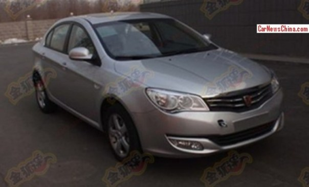 Spy Shots: Roewe 350 testing with turbo power in China