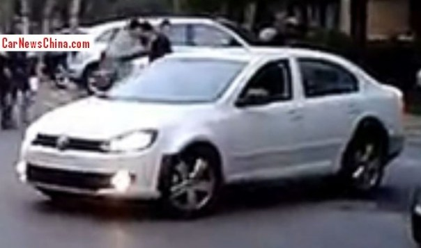 Spy Shots: new China-only Volkswagen sedan for the Chinese auto market