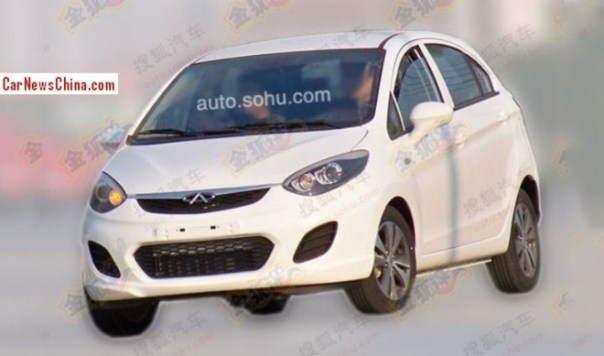 Spy Shots: Chery E1 is Ready for the China car market