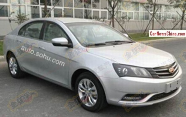 Spy Shots: facelifted Geely Emgrand EC7 is Ready for the China car market
