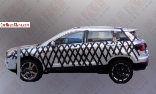 Spy Shots: Haval H7 testing in China