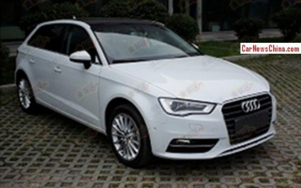 China-made Audi A3 Sportback is Ready for the Chinese auto market