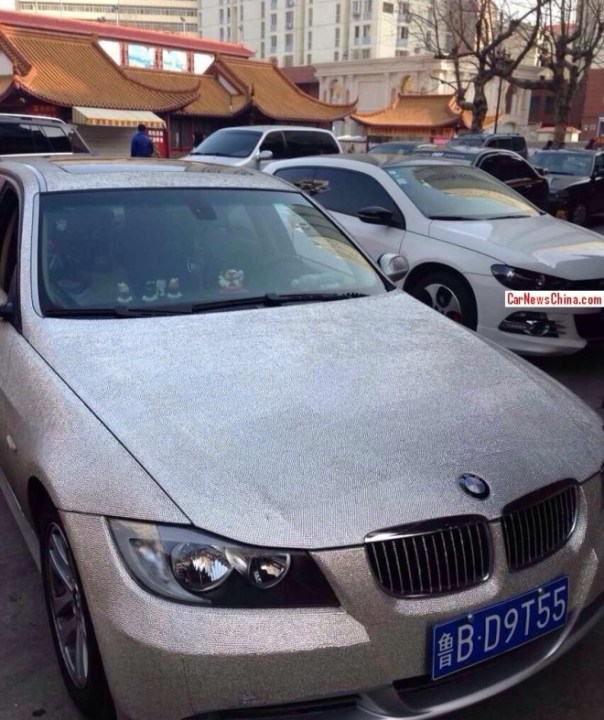 BMW 3-Series is Glittered to the Max in China