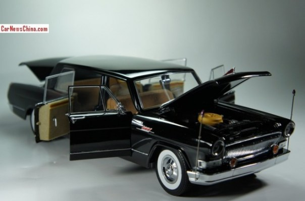 A manic model review of the 1:18 Hongqi CA770